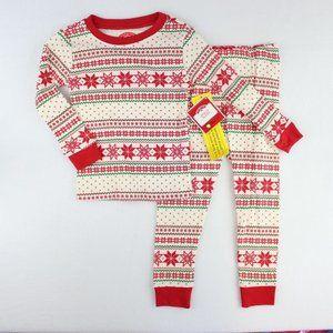 Holiday Time 2 Piece Pajama Set Toddler Size 2t